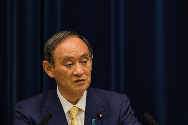 Japanese Prime Minister Yoshihide Suga is resigning.