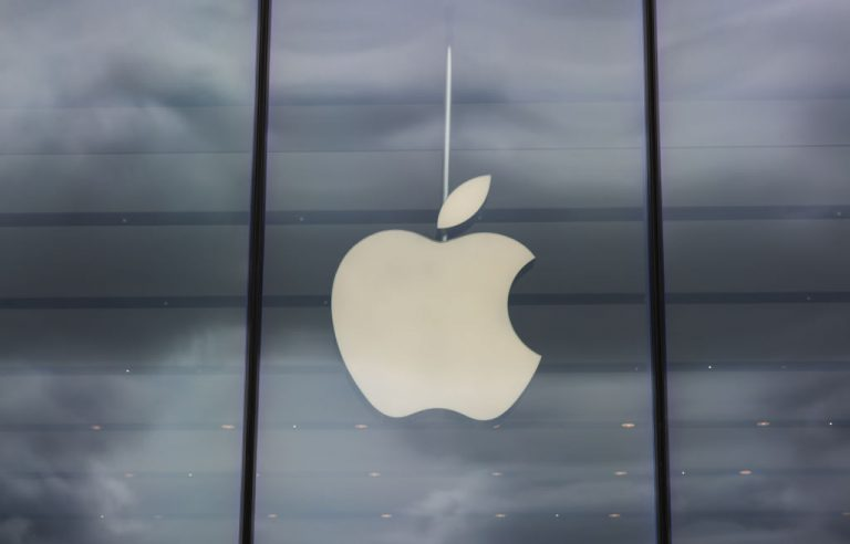 Apple Store photographed on August 08, 2021 in Dusseldorf, Germany.