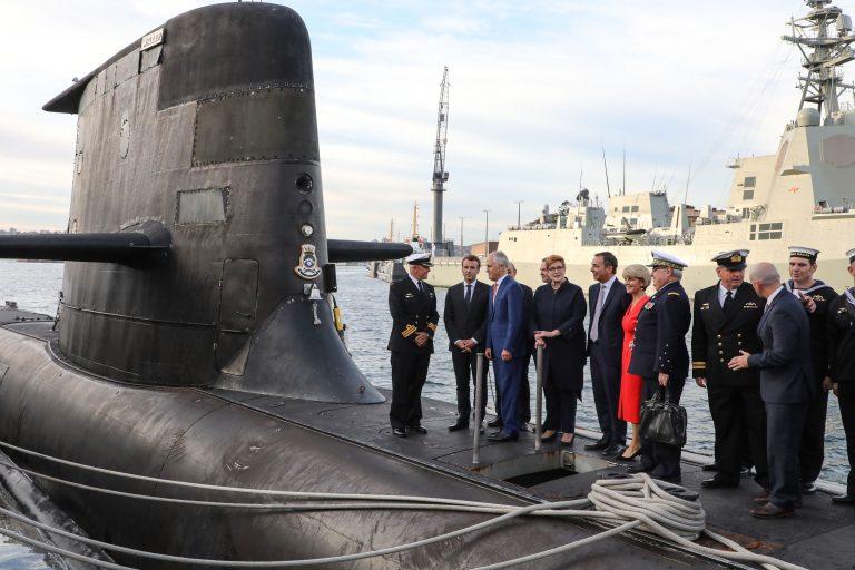 Australia submarine france nuclear fleet