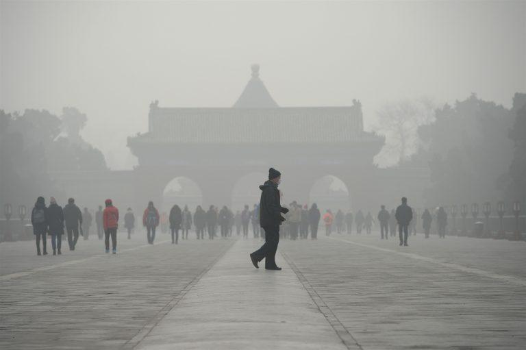 China climate smog beijing