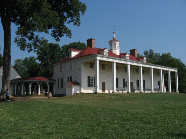 Mount Vernon, the home of founding father George Washington, has been open to the public since 1860 and hosts reenactments and naturalization ceremonies for new citizens.
