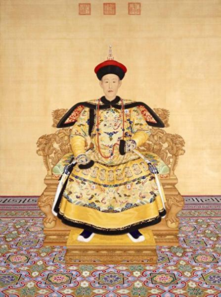 Emperor Qianlong, the Palace Museum in Beijing.