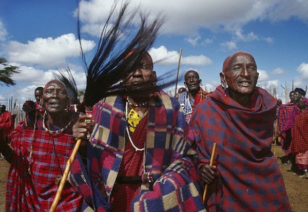Image of Khoisan people from the series Once We Were Hunters explores the issue of how indigenous people in Africa could and should benefit from the resources they have curated for hundreds of years.