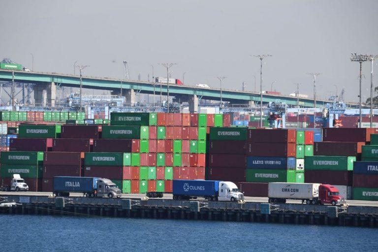 California supply chain crisis PMA and ILWU labor dispute