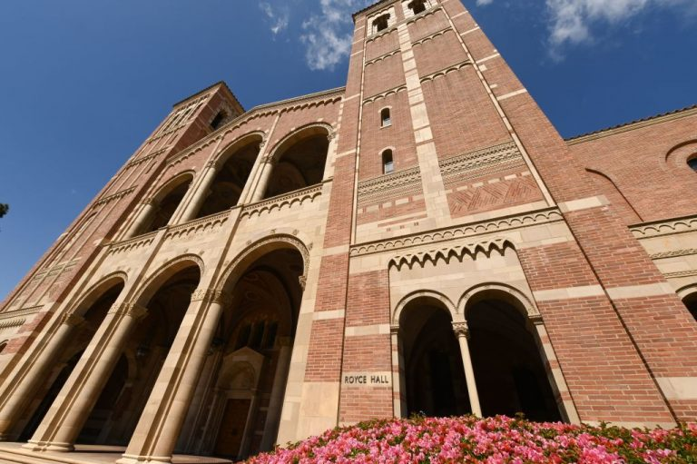 UCLA-Los Angeles-Royce Hal-campus-Getty-Images-1206664330