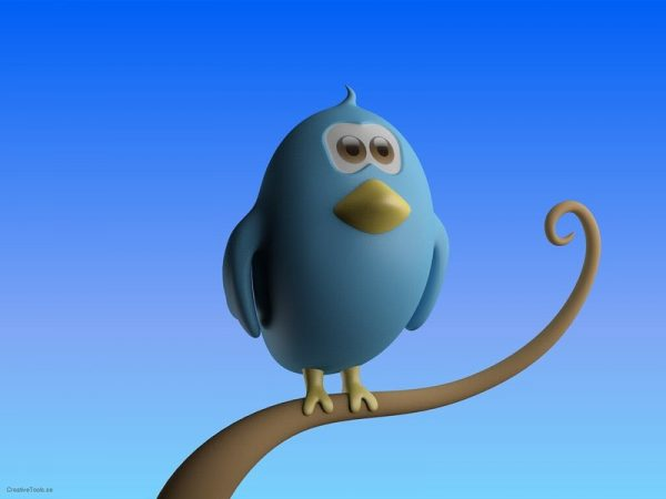 A 3D rendition of a Twitter bird standing on a branch. Social media empire Twitter says they will make a great leap forward in their revenue and business model by Q4 2023 with a series of upgrades to retail-customer functionality on their platform.